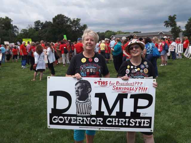 Carol and Diane say Dump Christie