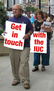 Get in Touch with the IUC