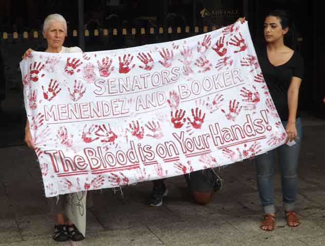 Blood on Senators' Hands