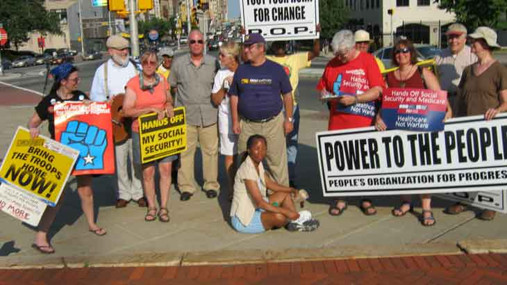 Newark POP vigil July